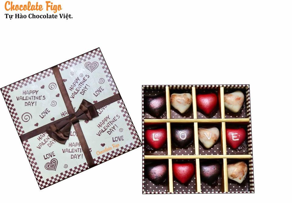 Mua sỉ các loại hộp quà tặng Socola Valentine 14/2 ở đâu ? - Giao hàng toàn quốc