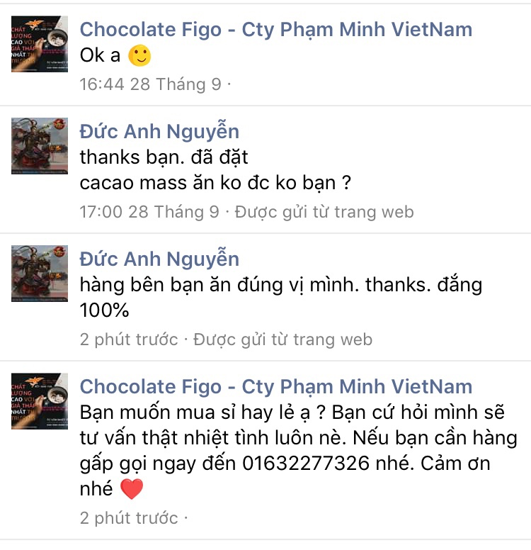 Feedback về Kẹo Socola 9 vị Figo
