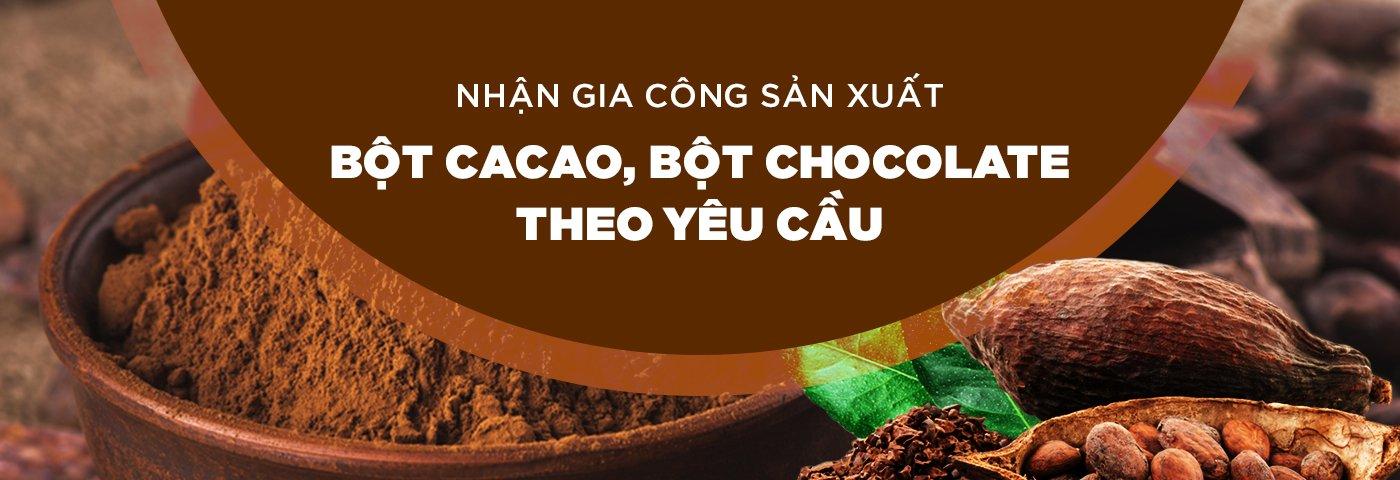 gia công bột cacao