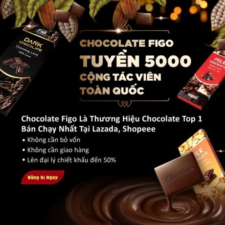 Chocolate Figo tuyển 5000 cộng tác viên bán Socola toàn quốc
