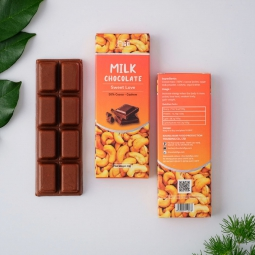 [ ĂN LÀ NGHIỆN] Socola sữa nhân Hạt điều 50% cacao FIGO 20g
