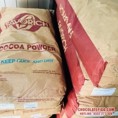 Bột ca cao Malaysia bao 25kg mua sỉ tphcm ở đâu ?