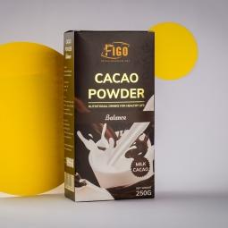 Bột cacao hòa tan 3in1 dòng Balance 250g Figo
