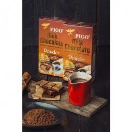 Bột sô cô la sữa 60% cacao 250 Figo