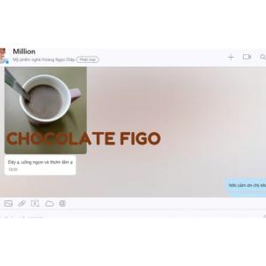 Bột Socola sữa 60% cacao 500g Figo - Tự hào Bột Socola Việt Nam