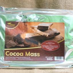 Cacao Mass nguyên chất 100% cacao Figo 1kg