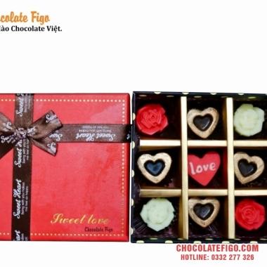 Hấp dẫn với quà tặng Hộp socola Valentine 2019 của Figo