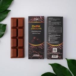 (Bar 20g) Kẹo Sô cô la đen 100% có đường ăn kiêng 20g FIGO