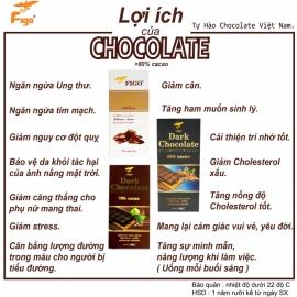 Kẹo Socola sữa nhân Đậu phộng tăng cân 100g Figo - Kẹo Socola Việt Nam