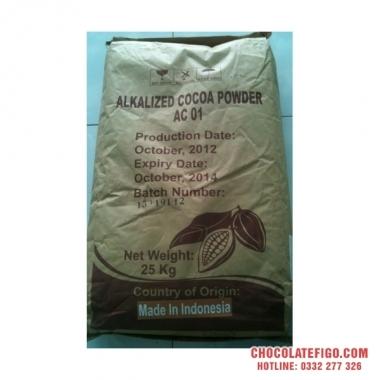 Mua sỉ bao 25kg bột ca cao nguyên chất Indonesia ở đâu thành phố HCM ?