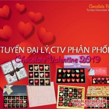 Nhà cung cấp Hộp quà tặng Socola Valentine lễ tình nhân 14/2/2019 Sỉ lẻ TPHCM - Toàn Quốc